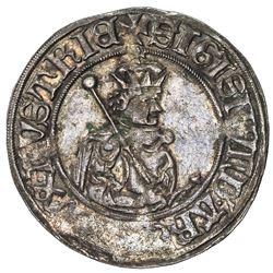 TIROL: Sigismund, 1439-1496, AR 6 kreuzer (sechser), Hall