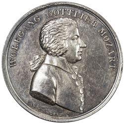 AUSTRIA: AR medal (11.41g), ND [ca. late 1800's]
