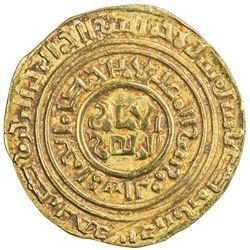 "KINGDOM OF JERUSALEM: Second phase, ca. 1149-1187, AV bezant (3.96g), ""Misr"", AH""506"". VF-EF"