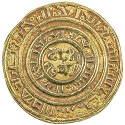 """KINGDOM OF JERUSALEM: Second phase, ca. 1149-1187, AV bezant (3.62g), """"Misr"""", ND. VF"""