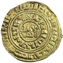 KINGDOM OF JERUSALEM: AV bezant (3.70g), NM, ND (ca. 1190-1260). VF-EF