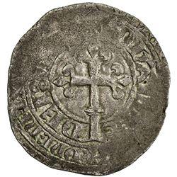 FRANCE: Jean II, le Bon, 1350-1364, AR gros blanc a la couronne (3.01g). F