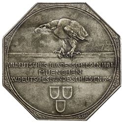 BAVARIA: AR shooting medal (26.60g), 1906