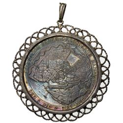 HAMBURG: AR medal, 1842. AU