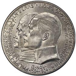 HESSE-DARMSTADT: Ernst Ludwig, 1892-1918, AR 2 mark, 1904. PCGS PF66