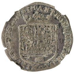 SCHWARZBURG-SONDERSHAUSEN: Anton Gunther, 1620-1666, AR groschen, 1666. NGC AU55