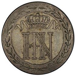 WESTPHALIA: Jerome Napoleon, 1807-1813, BI 20 centimes, 1812-C. PCGS AU50