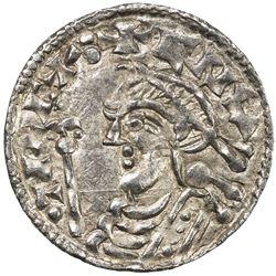 ENGLAND: Cnut, 1016-1035, AR penny (0.70g), Stamford. EF