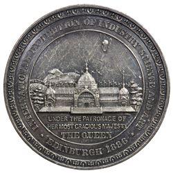 SCOTLAND: AR medal, 1886. EF