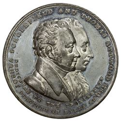 GREAT BRITAIN: tin medal, 1832. AU-UNC