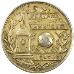 GREAT BRITAIN: AR gilt medal (23.95g), 1936-37. EF-AU