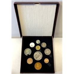 GREAT BRITAIN: George VI, 1936-1952, 10-coin proof set, 1951