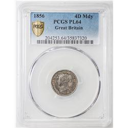 GREAT BRITAIN: Victoria, 1837-1901, 4-coin set, 1856