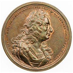 GREECE: AE medal, 1716. AU
