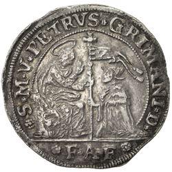 VENICE: Pietro Grimani, 1741-1752, AR ducato (22.70g), ND [1742-3]. VF