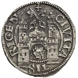 LIVONIA: Free Imperial City, AR ferding (2.67g), Riga, [15]67. EF