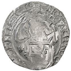 GELDERLAND: Dutch Republic, AR leeuwendaalder (27.04g), 1648. AU