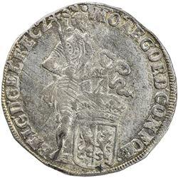 GELDERLAND: Dutch Republic, AR ducat (48 stuiver), 1699. UNC