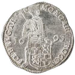 UTRECHT: Dutch Republic, AR ducat (48 stuiver) (28.05g), 1695. EF-AU