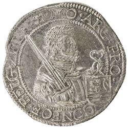 ZEELAND: Dutch Republic, AR rijksdaalder (28.53g), 1613/2. EF-AU