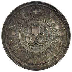 SCHWYZ: AR medal (44.49g), 1891. UNC