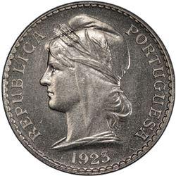 ANGOLA: Portuguese Colony, 50 centavos, 1923-KN. PCGS SP63