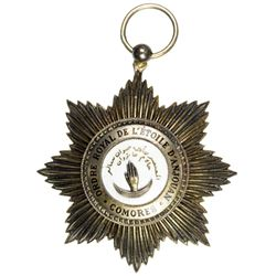 COMOROS: medal. EF