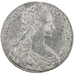 ERITREA: Vittorio Emanuele, 1900-1945, AR tallero, 1918-R. EF