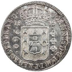 BRAZIL: Joao VI, 1816-1822, AR 960 reis, 1815-R