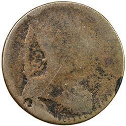 CANADA: AE halfpenny token (3.41g), ND [ca. 1835]