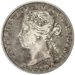CANADA: Victoria, 1837-1901, AR 50 cents, 1898. F-VF