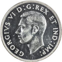 CANADA: George VI, 1936-1952, AR dollar, 1946. PCGS SP