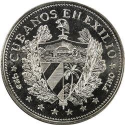 CUBA: AR souvenir peso, 1965. PF