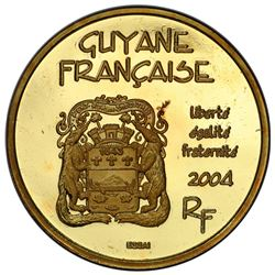 FRENCH GUIANA: AV 20 euro, 2004. PCGS SP67