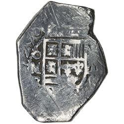 MEXICO: Felipe V, 1700-1746, AR cob 8 reales (26.20g), 1729
