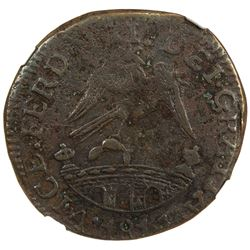 MEXICO: War of Independence, AE 2 reales, 1814. NGC VF