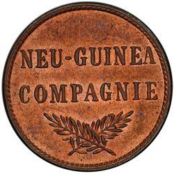 GERMAN NEW GUINEA: Wilhelm II, 1888-1918, AE pfennig, 1894-A. PCGS MS63