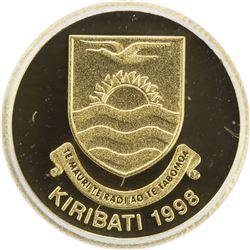 KIRIBATI: AV 10 dollars, 1998. ICG PF70