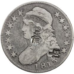 CHINESE CHOPMARKS: UNITED STATES: AR 50 cents, 1813. F