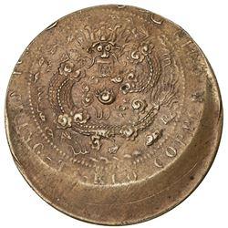 KIANGNAN: Kuang Hsu, 1875-1908, AE 10 cash, CD1907. AU