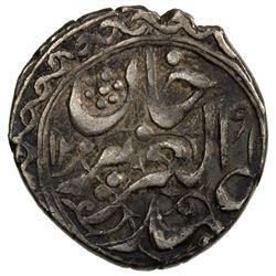 SINKIANG: Ya'qub Beg, 1864-1877, AR 1/2 miscal (5 fen), (1.81g), Kashghar, AH1291//1290. VF-EF