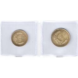 CHINA (PEOPLE'S REPUBLIC): 2-coin proof set, 1980