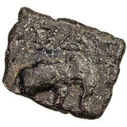 CHERA: Sangam Era, ca. 200 BC to 200 AD, AE rectangular (4.82g). VF-EF