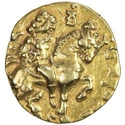 GUPTA: Kumaragupta I, 409-450/452, AV dinar (8.18g). VF-EF