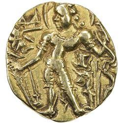 GUPTA: Chandragupta IV, ca. 470+, AV dinar (8.59g). VF-EF