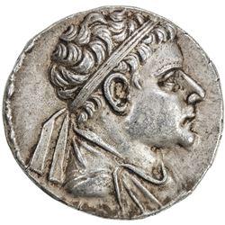 INDO-GREEK: Eukratides II, ca. 145-140 BC, AR tetradrachm (16.49g). VF-EF