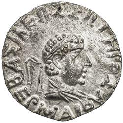 INDO-GREEK: Hermaios, ca. 90-70 BC, AR tetradrachm (8.58g). EF