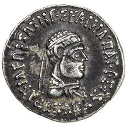 INDO-GREEK: Apollodotus II, ca. 80-65 BC, AR drachm (2.31g). EF