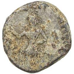 INDO-SCYTHIAN: Azes II, ca. 35 BC to 5 AD, lead unit (8.15g). F