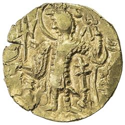 KIDARITE: Kidara, circa 380-400+, AV dinar (7.97g). EF
